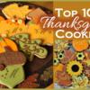 Saturday Spotlight: Top 10 Thanksgiving Cookies