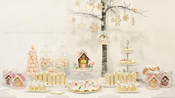 Winterwonderland Sweet table De Koekenbakkers 1