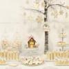 Winter Wonderland Sweets Table: Sweets and Photo by De Koekenbakkers