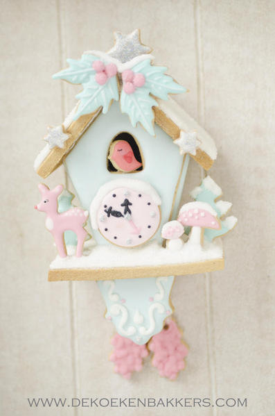 Winterwonderland Cookie cuckoo clock