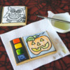 Paint Palette Cookies: Cookies and Photo by Montreal Confections