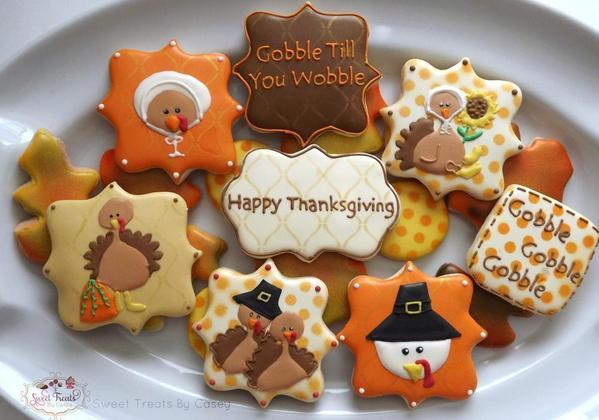 Pilgrim Turkeys - Sweet Treats by Casey -1