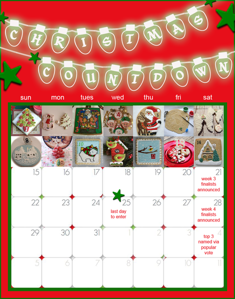 ChristmasCountdownCalendar with Week 2