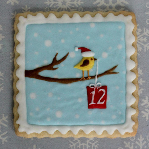 Bird on Branch - Day 12 - Gwen's Kitchen Creations