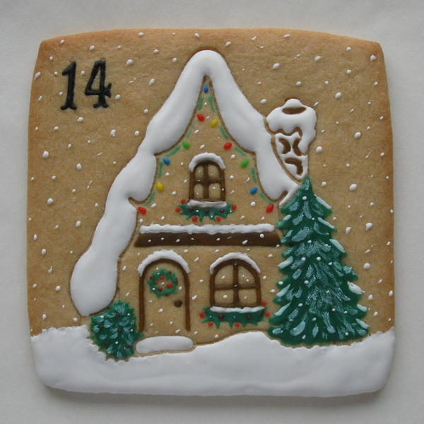 Gingerbread House - Classic Cookies - Day 14