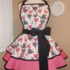 Valentine's Swirly Heart Pattern Apron: Courtesy of Mama & Madison