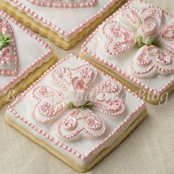 Tufted Heart Cookies
