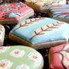 Retro Pattern Close-up 2: Cookies and Photo by Honeycat Cookies