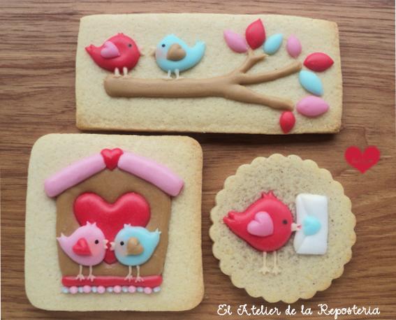 Pajaritos de San Valentin - El Atelier de la Reposteria - 2