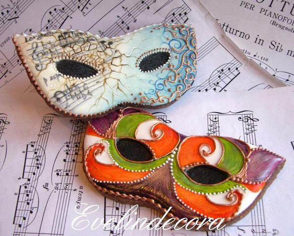 Mardi Gras and Venetian Masks - Evelindecora - 2