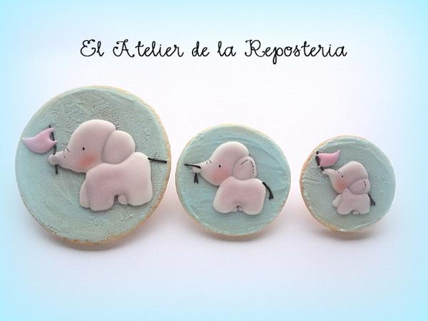 Bebes Elefantes - El Atelier de la Reposteria - 3