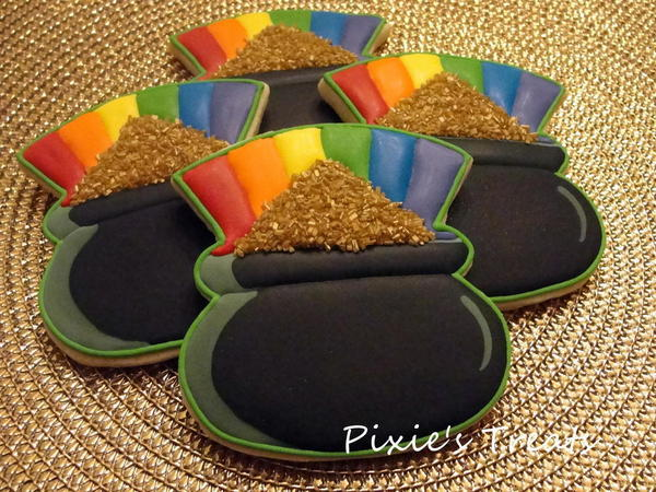 Pot of Gold at the end of the rainbow -Sheila Pixies Treats - 3