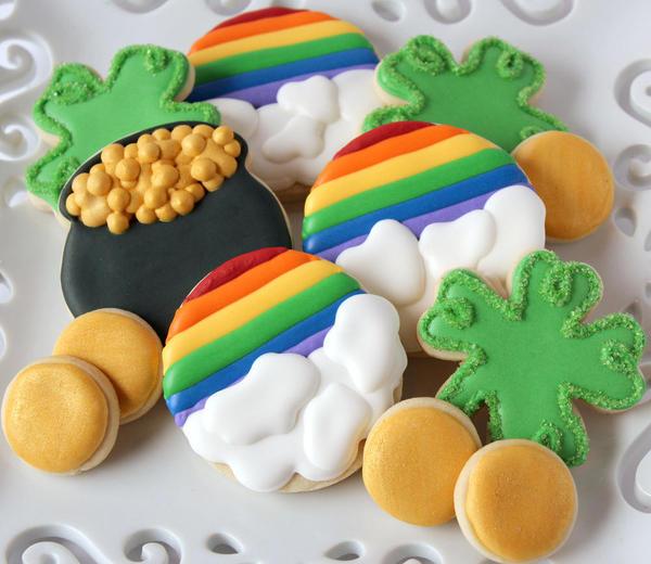 St Patricks Day Cookies - Baking in Heels - 5