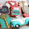 Set with Vintage Truck: Cookies and Photo by Arty McGoo