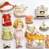 Handpainted Paper Doll Set: Cookies and Photo by Arty McGoo