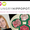 Hungry Hippopotamus Banner: Logo, Cookies, and Photos Courtesy of Stephanie Kappel