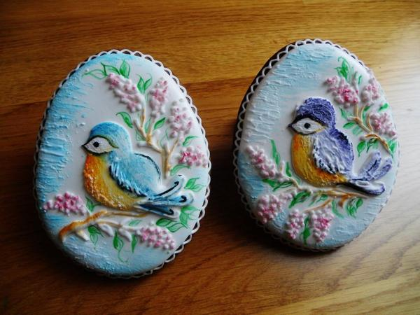 Easter Birds on Eggs - Dalla Via Jana - 8