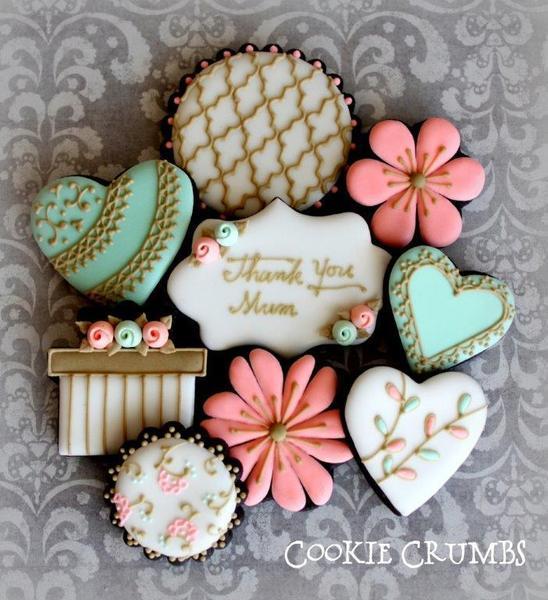 Mothers Day Cookies - mintlemonade - 1