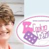 Pam Sneed of CookieCrazie: Photo and Logo Courtesy of CookieCrazie