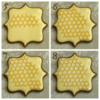Honeycomb Collage 2: Cookies and Photo by Honeycat Cookies