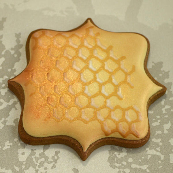 Honeycomb with Luster Dust