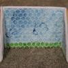 Soccer goal: honeycomb netting