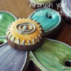 Flower Necklace - Airbrushing: Cookies and Photo by Yankee Girl Yummies