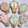 Shabby Chic Hot Air Balloons: Cookies and Photo by Ali's Sweet Tooth