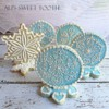 3-D Snowflake Cookies: Cookies and Photo by Ali's Sweet Tooth