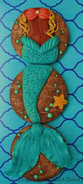 Mystic Mermaid - Sugar Pearls Cakes and Bakes - 6