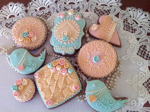 Vintage Cookie Set - Maybe A Cookie -7