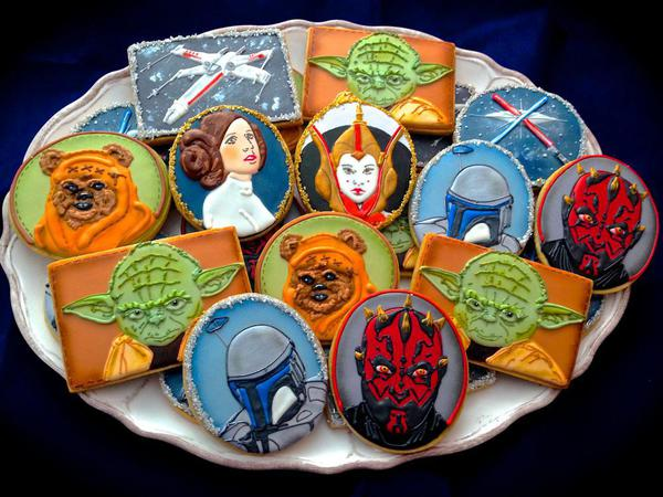 Star Wars Cookies - Compassionate Cake - Character