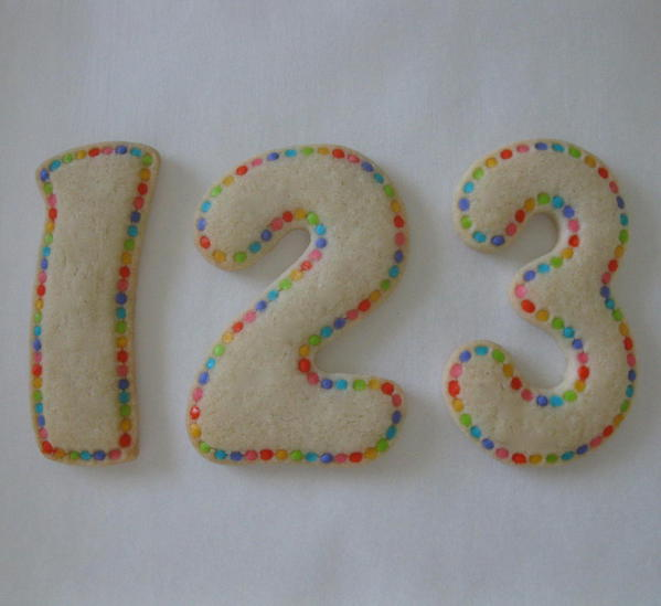 123 - Classic Cookies - Back to School