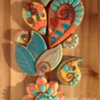 Top Fall Cookies - Abstract Paisley: By Fernwood Cookie