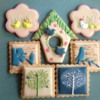 Top Animal Cookies - Bird Cookie Set: By vert