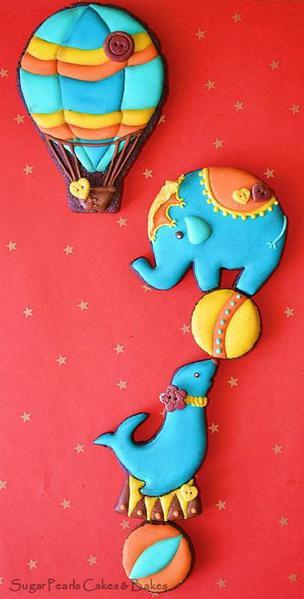 Sugar Pearls Cakes and Bakes- Circus Act