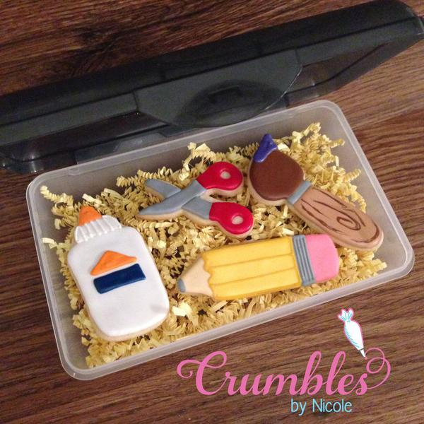 back to school Cookie supplies - nicole Jackson Silva - 6