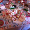 A Lavish Cookie Display: Fuzzy Image Courtesy of Julia's iPhone