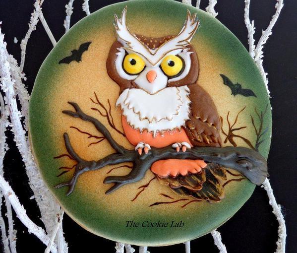 My Halloween Magic Owl - The Cookie Lab - 2