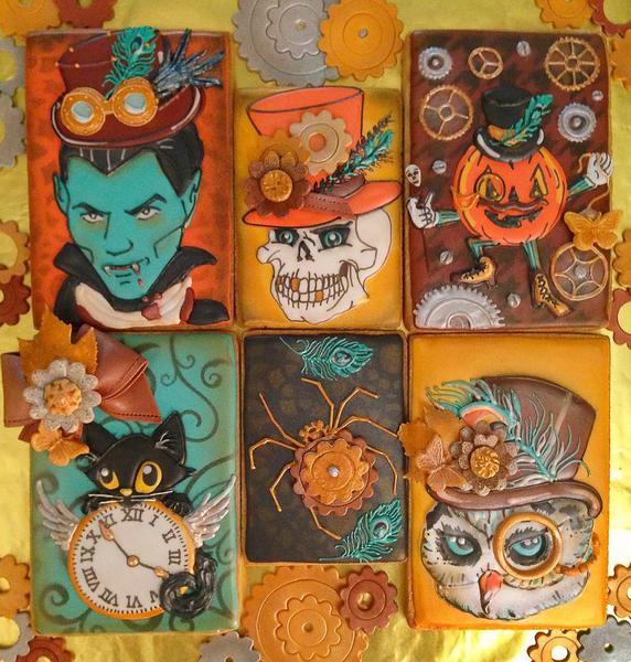 A Very Steampunk Halloween - Compassionate Cake - 10