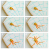 Spider Collage 2: Cookies and Photos by Honeycat Cookies