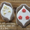 Wallpaper Cookies - Flower Petals in Place: Cookies and Photo by Yankee Girl Yummies