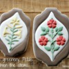 Wallpaper Cookies - Greenery Details: Cookies and Photo by Yankee Girl Yummies