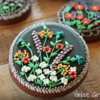 Flower Cookies - Inspired by Jewelry: Cookies and Photo by Yankee Girl Yummies