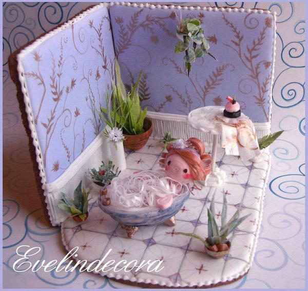 Cookie bathroom- Evelindecora
