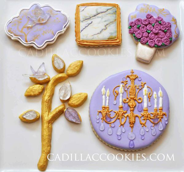 Jeweled and Gilded- Cadillac Cookies