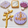 Jeweled and Gilded: Cookies and Photo by Cadillac Cookies