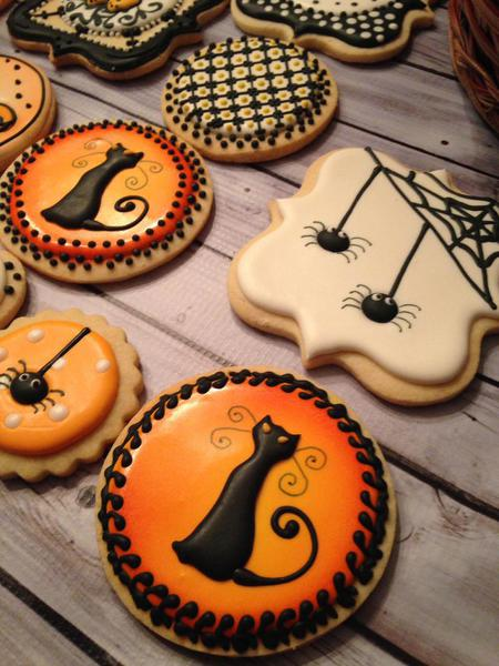 Spooky Critters and Cats - Sweet Hill Cookies - Halloween