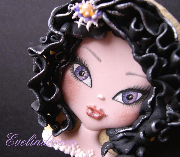 Halloween Doll Cookie _Evelindecora - 2
