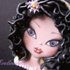 2 - Halloween Doll Cookie: By Evelindecora